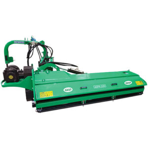 AGFN- Heavy side mower with open hood