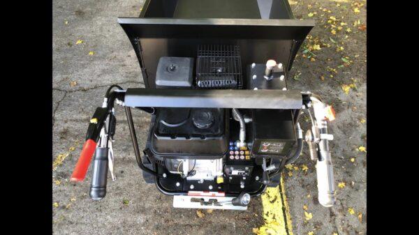 Black tools 500 KG Hydraulic Tracked Dumper