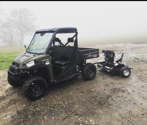 AT120 Flail Mower - ATV